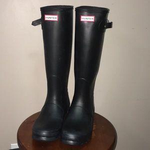 Hunter tall classic rain boot
